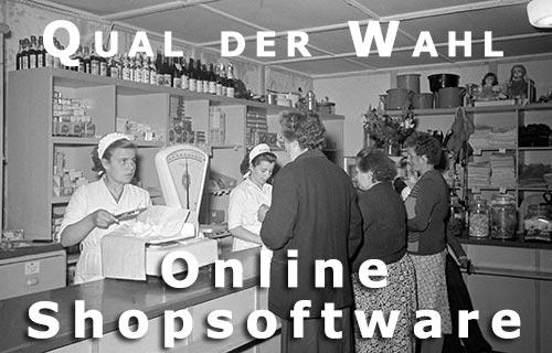 Shopsysteme, Shopsoftware & E-Commerce Lösungen im Vergleich