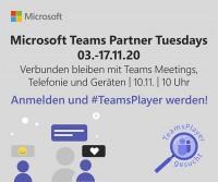Verbunden bleiben mit Teams Meetings, Telefonie und Geräten – Microsoft Teams Partner Tuesdays