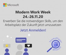 Microsoft – Modern Work Week