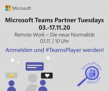 Remote Work - Die neue Normalität, Microsoft Teams Partner Tuesdays
