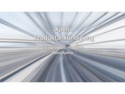 Xperia 1 III & Compact: Neue Sony Xperia Geräte sollen am 14. April vorgestellt werden