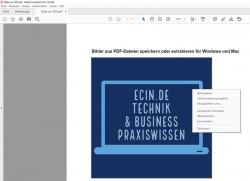 Bilder aus PDF-Dateien speichern oder extrahieren für Windows und Mac