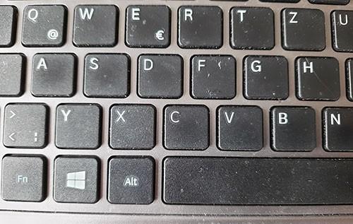 Tastenkombination: Tastatur von Englisch auf Deutsch umstellen